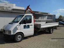 Volkswagen lt35 truck with cran