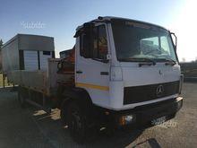 Mercedes 1524 cranes and fixed
