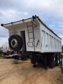 Semitrailer 3 axles tipper