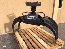 Timber grapple Deleks rotor s40