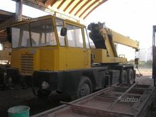 Self-propelled crane truck lice