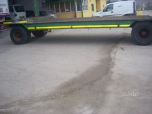 Used Cometto trailer