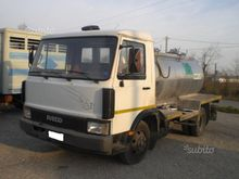 Iveco Fiat 65-12 with tanker tr