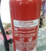Fire extinguisher for motor veh