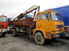 Truck Astra 4x4 tipper + crane