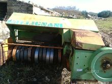 Used hay harvest in