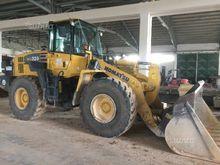Used wheel loader in