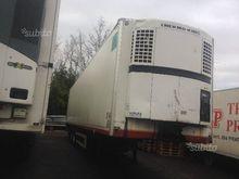 Semitrailer refrigerator and ta