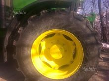 Used Rubber tractor