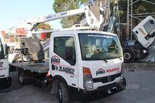 Aerial truck-mounted platform 1
