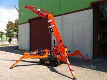 Mini-cranes tracked self-propel