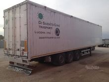 Semitrailer TMT Walking Floor