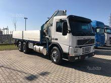 Volvo fm7 290 crane Cormach 220