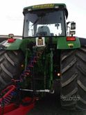 Jhon Deere tractor with trailer