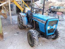 Landini 7530f and trailer