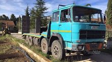 Fiat 180 4-axle low-bed trailer