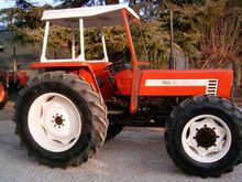 Tractor agr. Fiat 766DT with ha