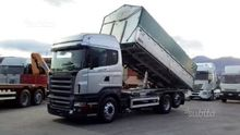 Scania R500 tipper three sides