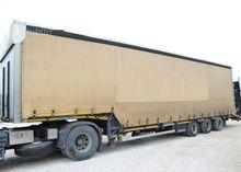 Curtainsider semi-trailer Berto