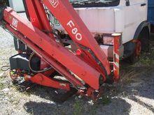 Used Fassi cranes 8/