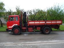 Fiat 159-20 tipper with crane H
