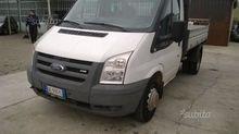 Ford transit three-sided tipper