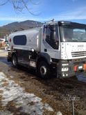 Iveco Stralis with tanker trans