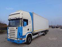 Scania 420 skip loader
