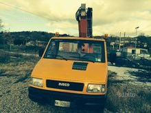 Iveco daily with basket