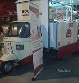 Street food truck Ape Piaggio