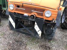 Used unimog tractor