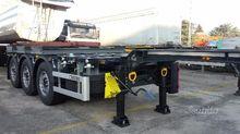 Semitrailer Merker container EX