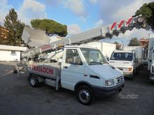Iveco daily with telescopic ram