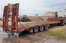 Semitrailer De Angelis hydrauli