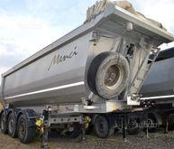 Semitrailer Menci pneumatic til