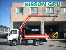Nissan Cabstar Fassi crane and
