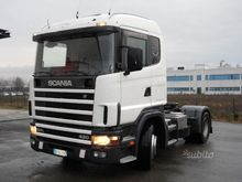 Scania 124l.420 road tractor