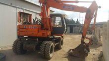 wheel excavator Fiat Hitachi ex