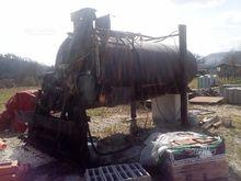 Spraying machine for marine emu