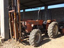Tractor Fiat 640 dt-h + Baler G