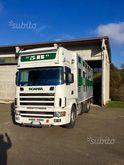 Scania 124 420 livestock transp