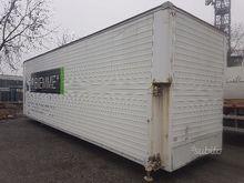 Swap body panel van dumper with