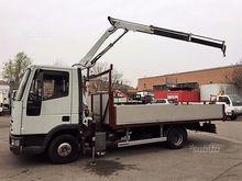 Iveco eurocargo 75.12 cranes' a