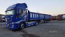 Stralis 500 tractor + Sem Silve