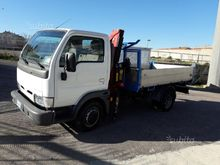 Nissan cabstar tipper and crane
