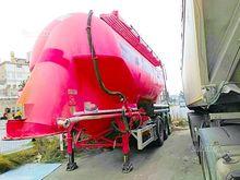 Semitrailer Feldbinder cement t