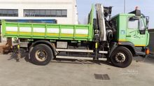 Used Man truck with
