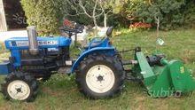 Used iseki tractor i