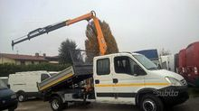 Iveco daily with gruIveco daily