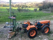 Tractor Fiat 635 and splitter C